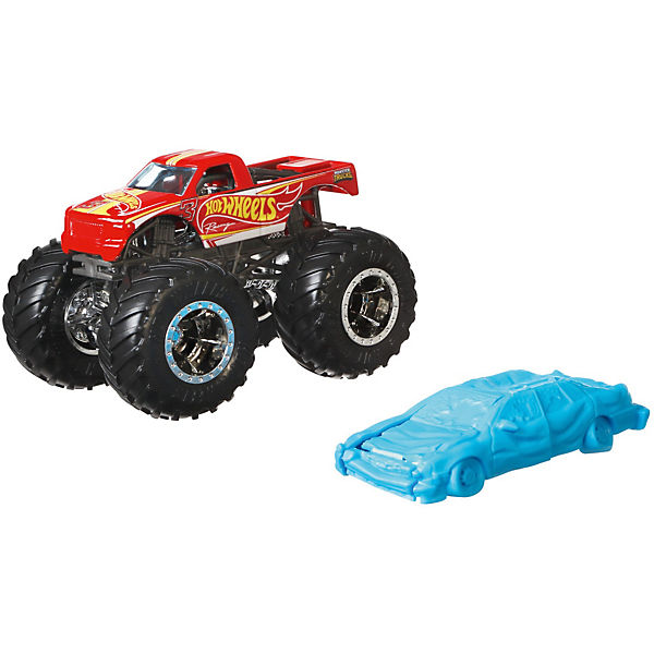 Hot Wheels Monster Trucks 1:64 Die-Cast Racing