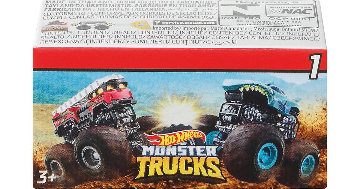 Hot Wheels Monster Trucks Mini-Trucks Blindpack, sortiert