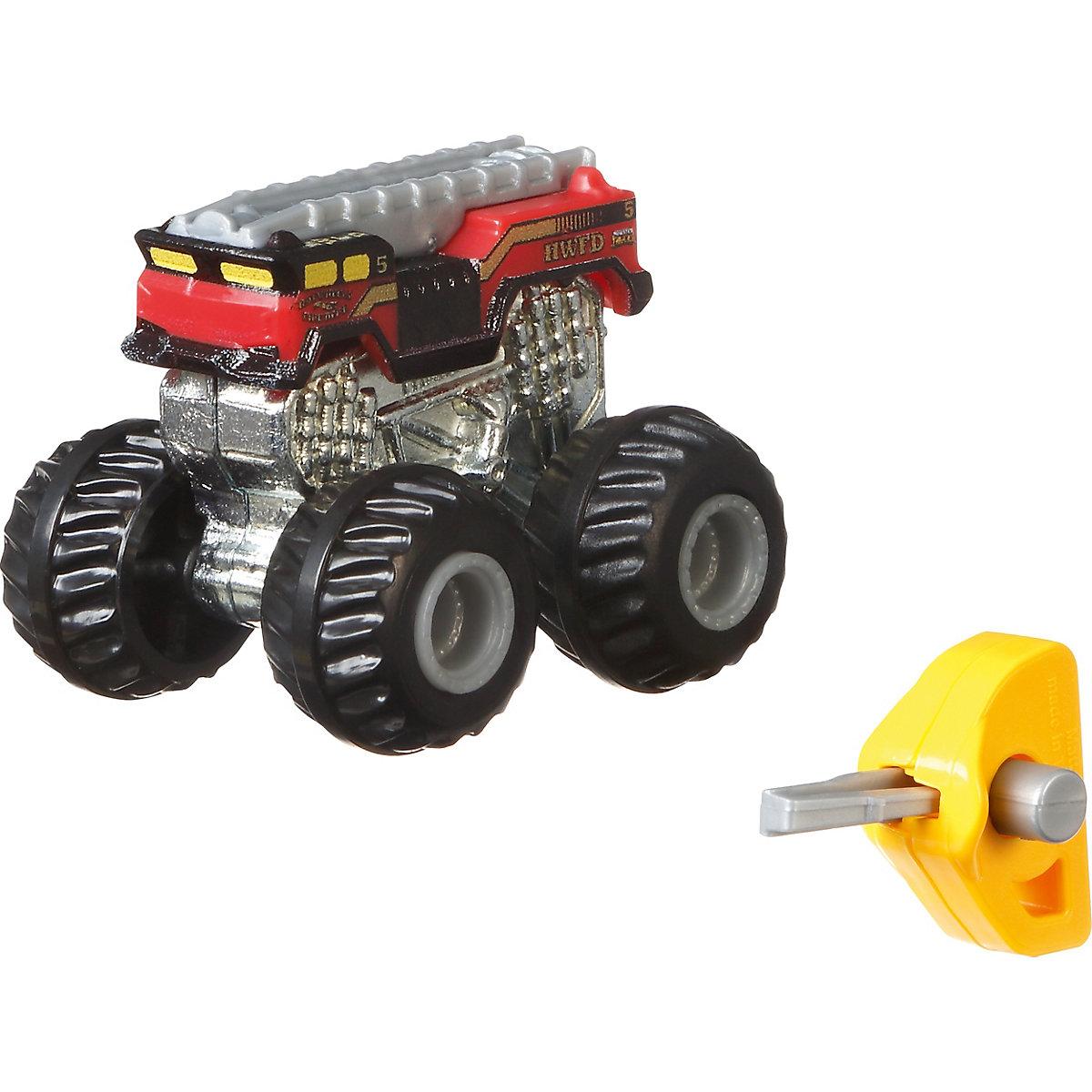 Hot Wheels Monster Trucks Mini-Trucks Blindpack, sortiert ...