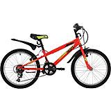 Двухколёсный велосипед Novatrack Racer, 20 дюймов