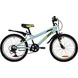 """Двухколёсный велосипед Novatrack Racer 20"""""""
