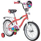 """Двухколёсный велосипед Novatrack Candy 16"""""""