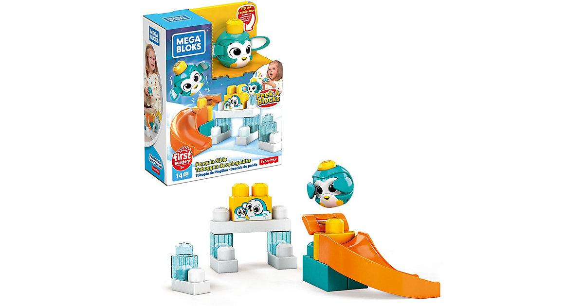 Mega Bloks Guck-Guck Pinguin-Rutsche Südpol Spielset (14 Teile)