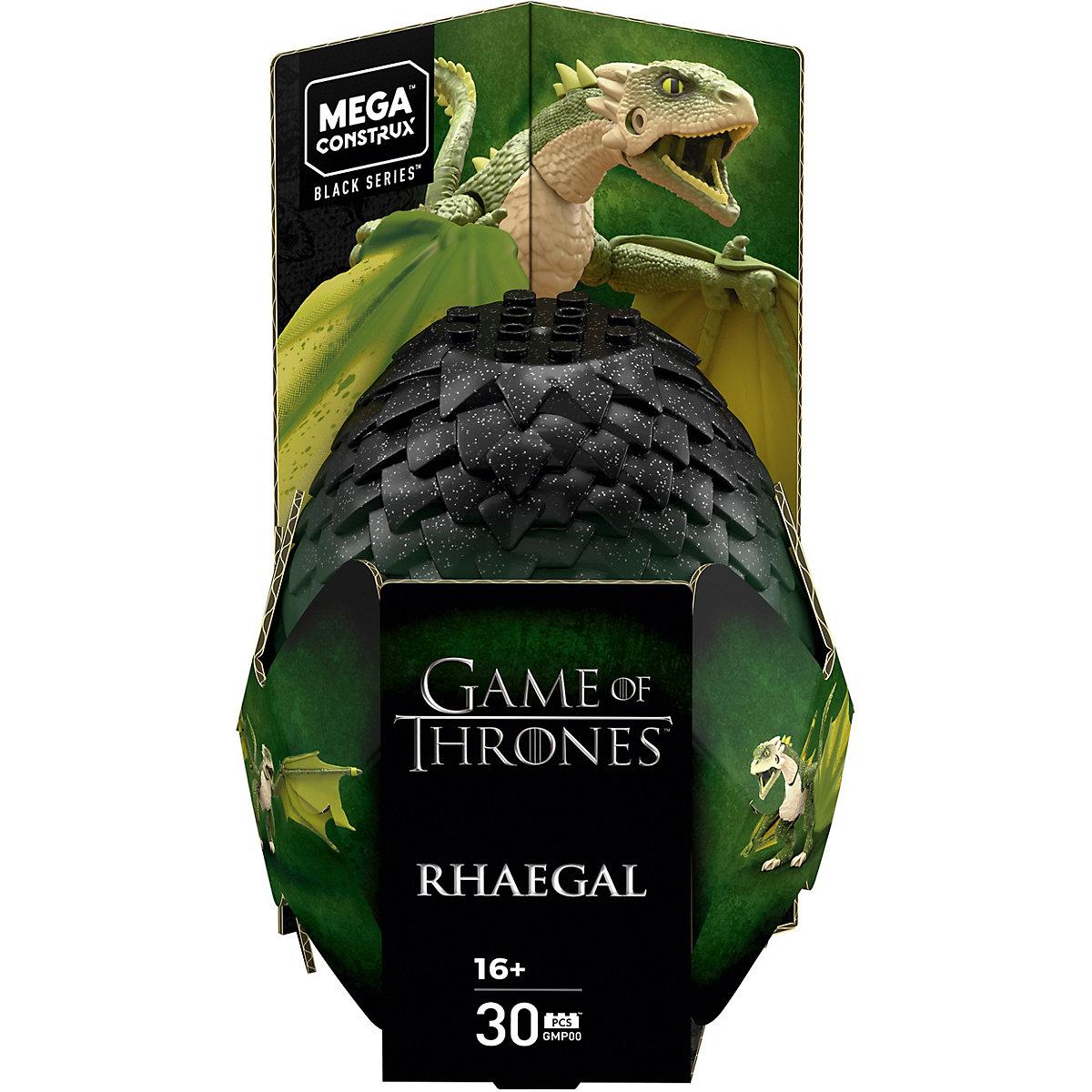 Mega Construx Probuilder Game of Thrones Dragon Rhaegal Game of Thrones zAAfu