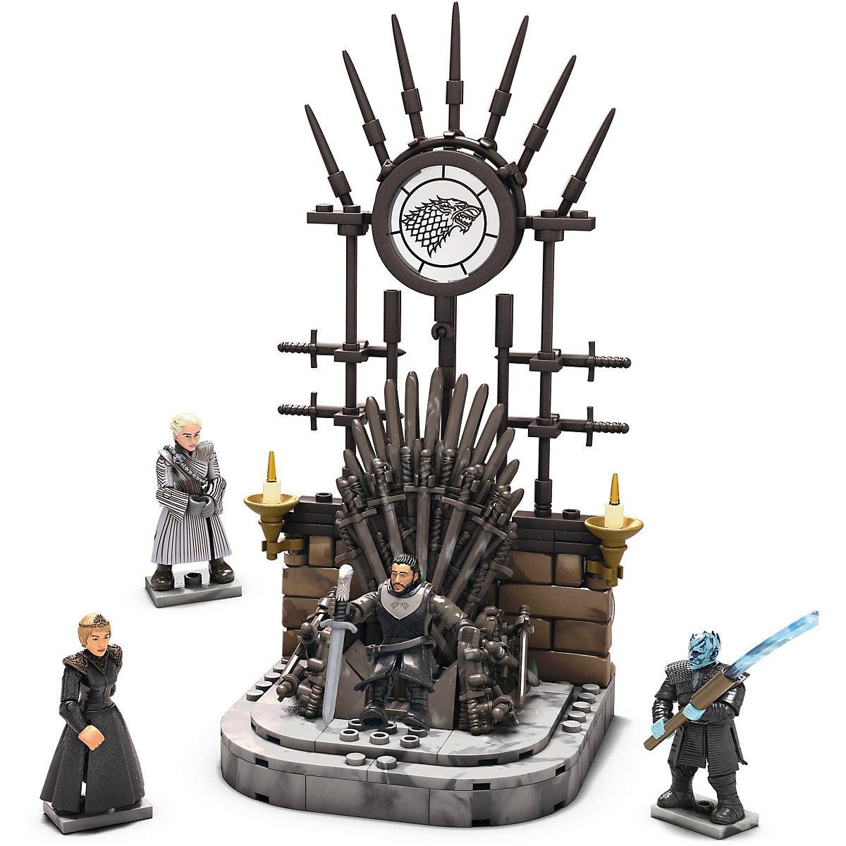 Mega Construx Probuilder Game of Thrones Der eiserne Thron Game of Thrones VTrsM