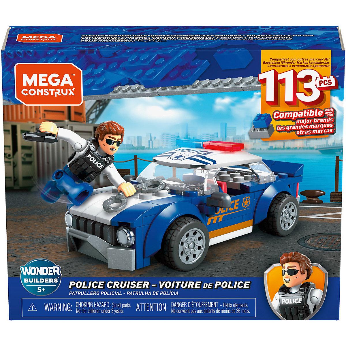 Mega Construx Polizeifahrzeug (113 Teile) MEGA CONSTRUX 2lZ5o