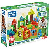 Конструктор ЭКО Mega Bloks First Builders Лесные друзья, 70 деталей