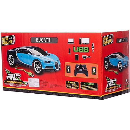 Радиоуправляемая машинка New Bright Chargers Sports Car 1:12, синяя от New Bright