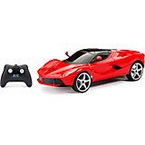 Радиоуправляемая машинка New Bright Chargers Sports Car 1:12, красная