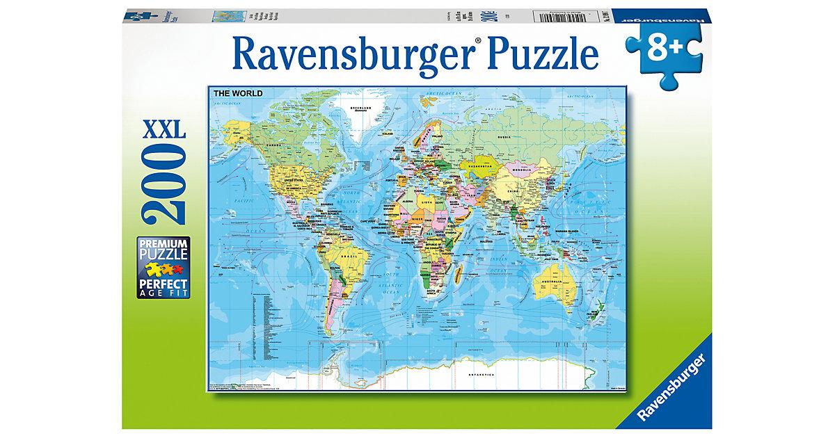XXL-Puzzle Die Welt, 200 Teile