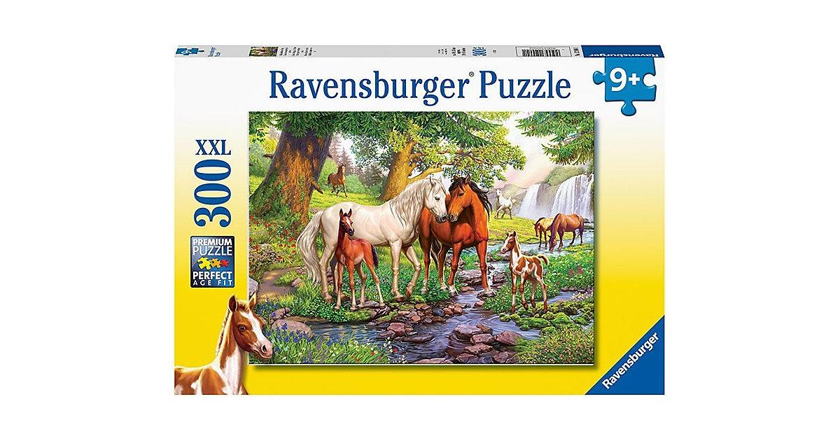 XXL-Puzzle Wildpferde am Fluss, 300 Teile