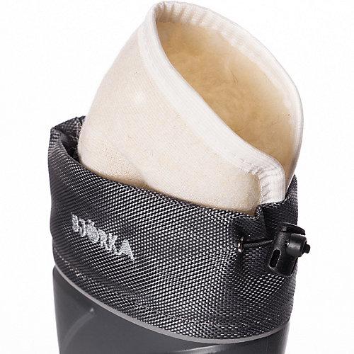 Резиновые сапоги со съемным носком BJÖRKA - серый от BJÖRKA