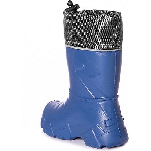 Резиновые сапоги со съемным носком BJÖRKA - синий от BJÖRKA