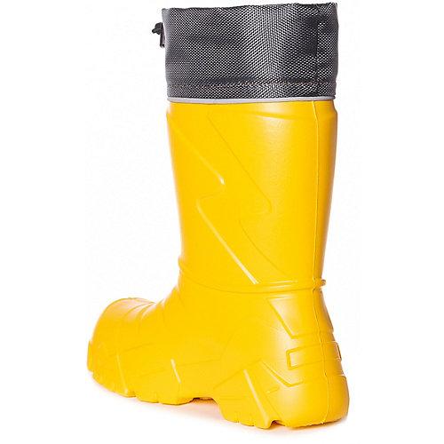 Резиновые сапоги со съемным носком BJÖRKA - желтый от BJÖRKA