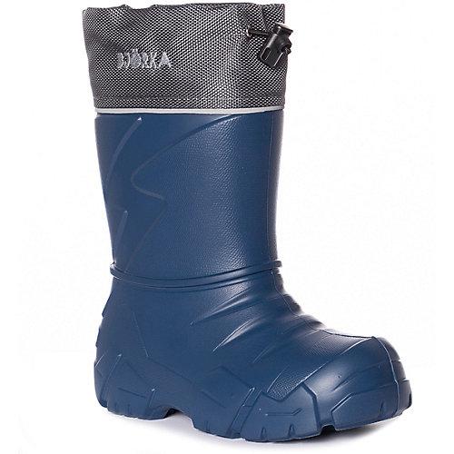 Резиновые сапоги со съемным носком BJÖRKA - темно-синий от BJÖRKA