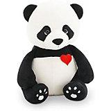 Мягкая игрушка Orange Life Панда Бу: Влюбленное сердце, 20 см