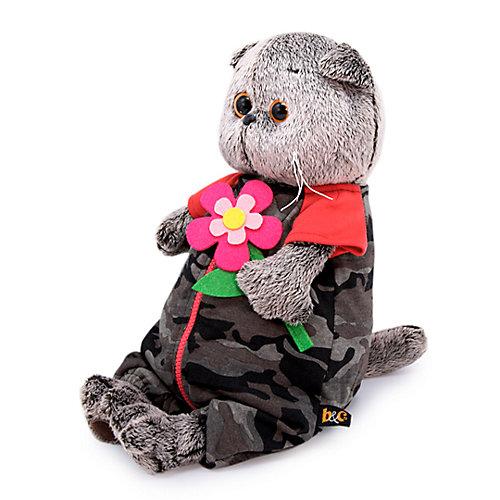 Мягкая игрушка Budi Basa Кот Басик в камуфляжном комбинезоне, 22 см от Budi Basa