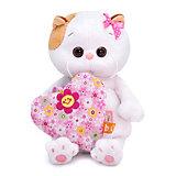Мягкая игрушка Budi Basa Кошечка Ли-Ли baby с сердечком, 20 см