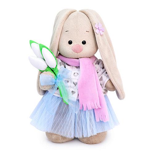 Мягкая игрушка Budi Basa Зайка Ми с белыми тюльпанами, 25 см от Budi Basa