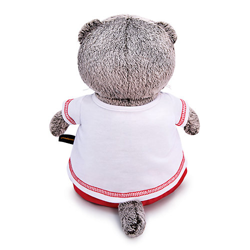 Мягкая игрушка Budi Basa Кот Басик в футболке с сердцем, 30 см от Budi Basa