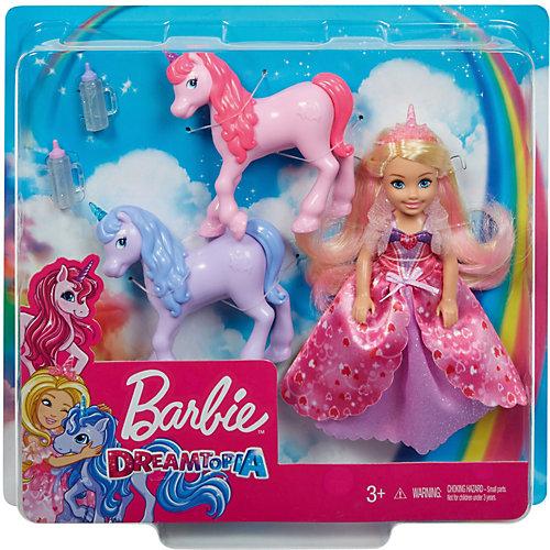 Кукла Barbie Челси с маленькими единорожками от Mattel