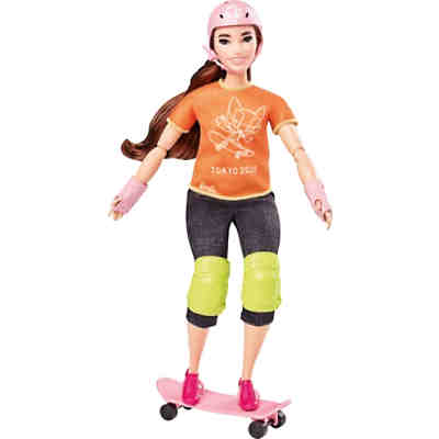 Barbie Skateboarder Puppe