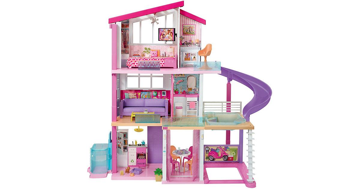 Barbie Traumvilla, Puppenhaus, Barbie Traumhaus mit 3 Etagen und Zubehör
