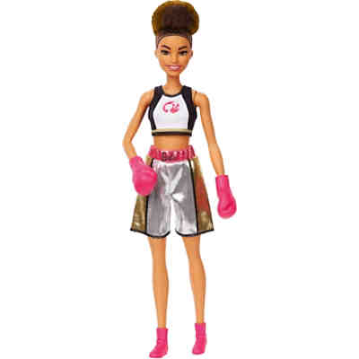 Barbie Boxerin Puppe (brünett), Anziehpuppe, Barbie Sportlerin, Karriere-Barbie