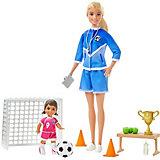 Игровой набор Barbie Футбольный тренер