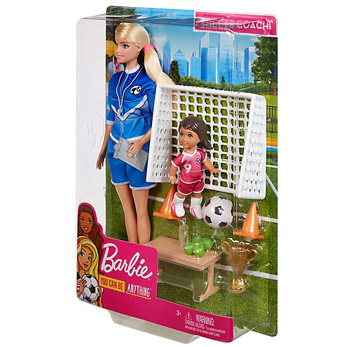 Игровой набор Barbie Футбольный тренер от Mattel