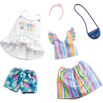 Barbie Fashions 2er-Pack Moden Rainbow and Floral