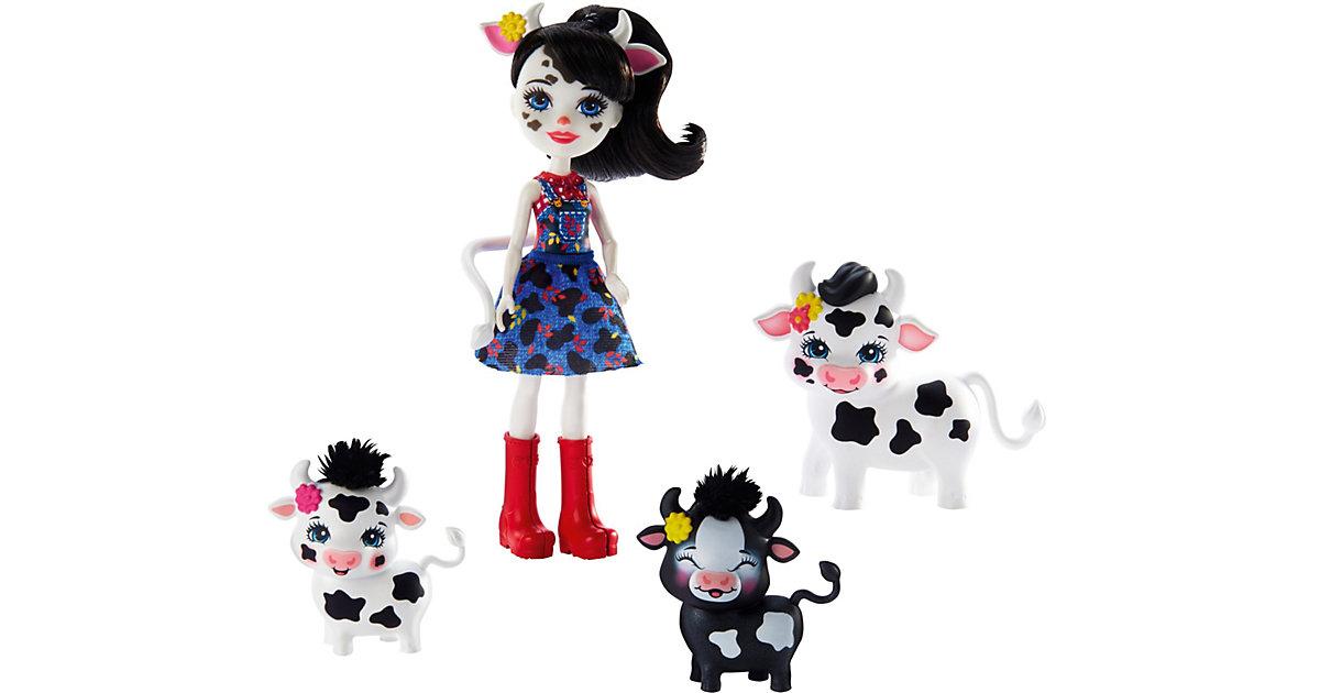 Enchantimals Cambrie Cow, Ricotta & Familie