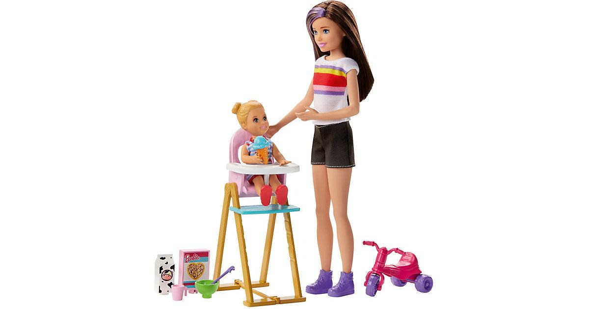 """Barbie """"Skipper Babysitters Inc."""" Puppen Spielset zum Füttern"""