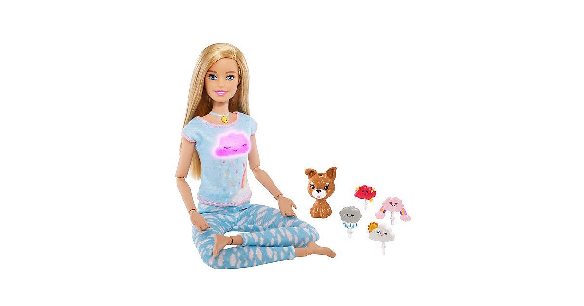 Barbie Wellness Meditations Puppe (blond) und Spielset