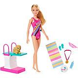 Игровой набор Barbie Чемпион по плаванию
