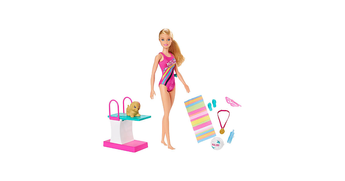 """Barbie """"Traumvilla Abenteuer"""" Schwimmerin Puppe"""