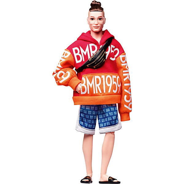 Barbie BMR1959 - Bold Logo Hoodie and Basketball Shorts