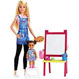 Кукла Barbie из серии «Кем быть?» Учительница рисования Блондинка