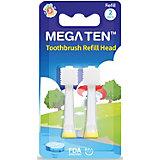 Сменные насадки для зубных щёток Megaten Kids Sonic