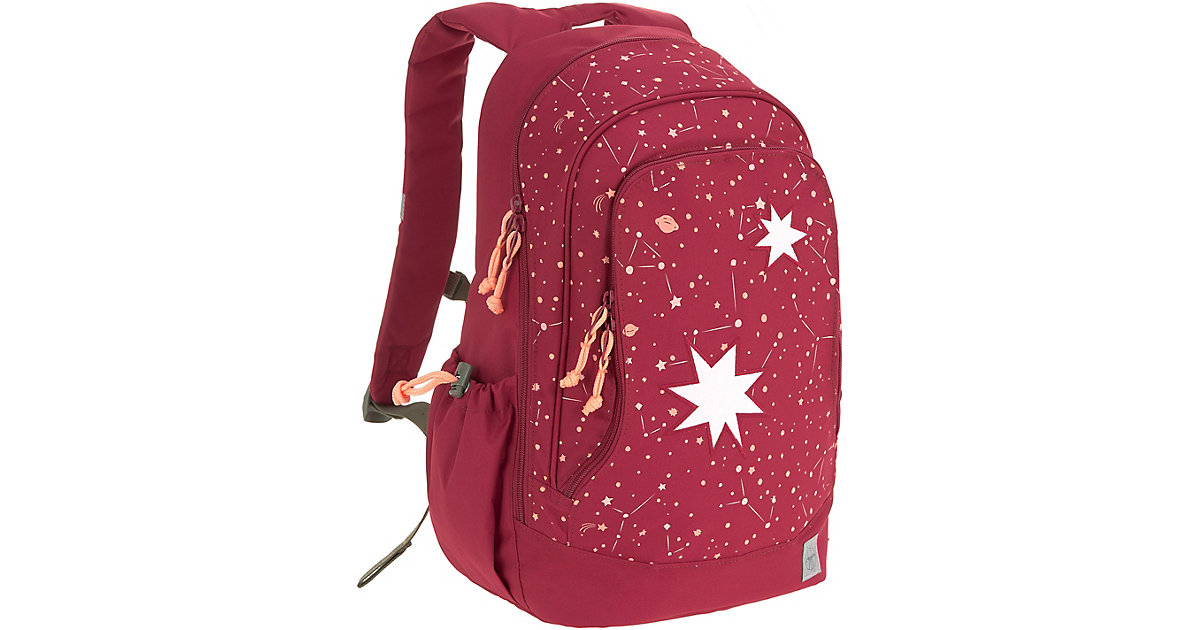 Schulrucksack 4Kids, Big Backpack, Magic Bliss girls bordeaux