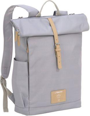 Wickelrucksack, Rolltop Backpack, grey, Lässig