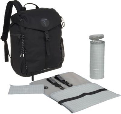 Wickelrucksack, Outdoor Backpack, black, Lässig