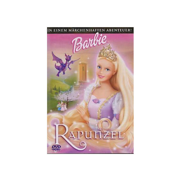 dvd barbie als rapunzel barbie mytoys