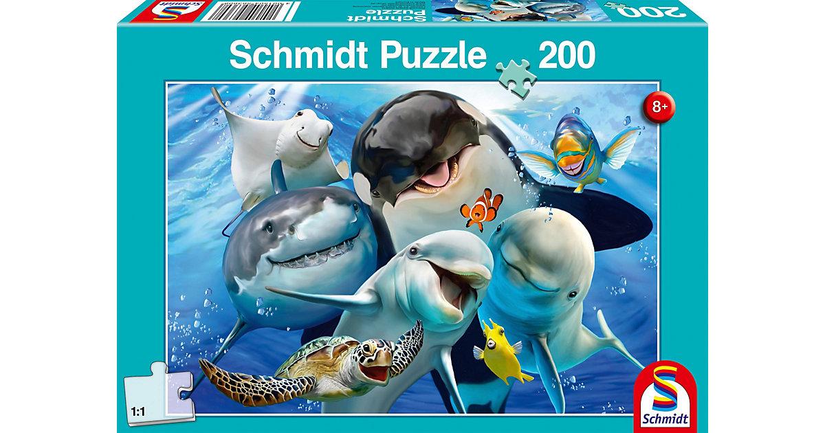 Puzzle 200 Teile Unterwasser-Freunde