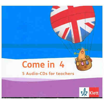 Come in ab Klasse 3, Ausgabe ab 2018: 4. Schuljahr, 5 Audio-CDs for teachers
