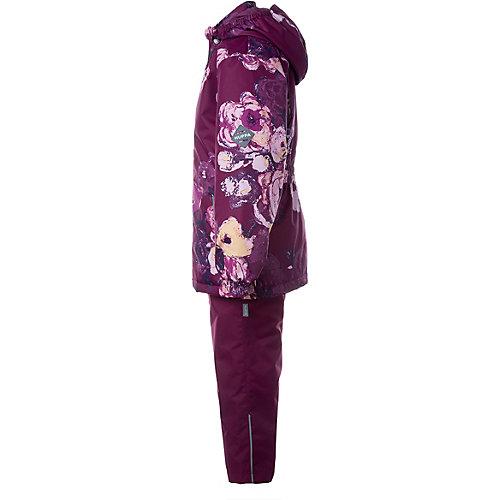 Комплект Huppa Yonne 1: куртка и полукомбинезон - бордовый от Huppa