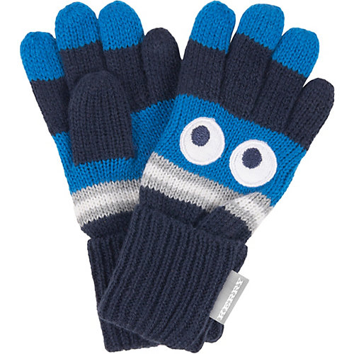 Перчатки Kerry Glaes - темно-синий деним от Kerry