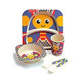 Набор детской бамбуковой посуды Fisher-Price Бабочка