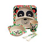 Набор детской бамбуковой посуды Fisher-Price Панда