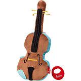 Музыкальная Мягкая игрушка Sigikid, Скрипка, 35 см